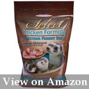 dry processed ferret food review