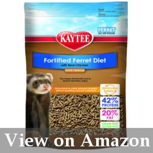 ferret food for revolving diet review