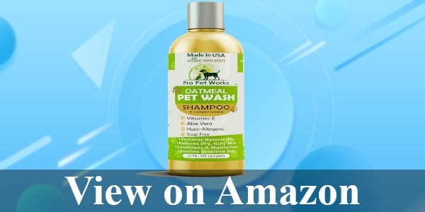 Pro Pet Works Oatmeal Shampoo/Conditioner review