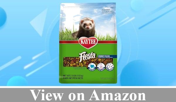 Kaytee Fiesta Ferret Food review