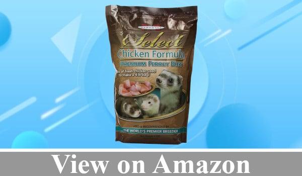 Marshall Chicken Formula Premium Ferret Diet review