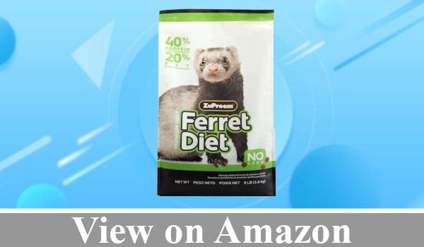ZuPreem Premium Daily Ferret Diet Food review